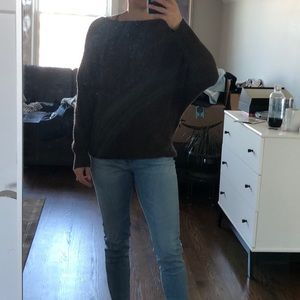 Theory Brown Cashmere sweater Small